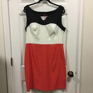 Dresses & Skirts - Colorblock Shift Dress